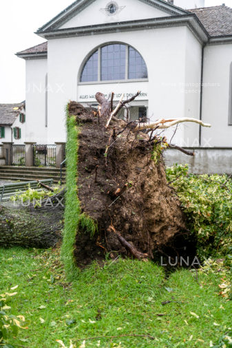 Unwetter in Zürich